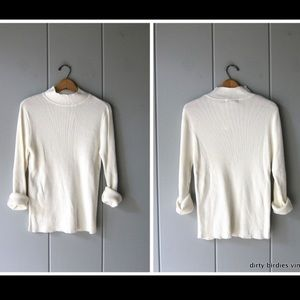 Ribbed Mockneck Shirt